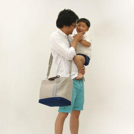 パパが持ってもかっこいいマザーズバッグ