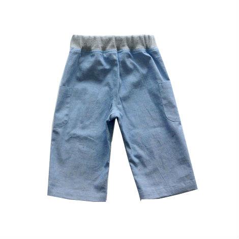 サイドポケットパンツ(ブルー)