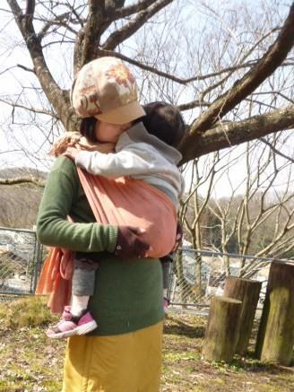 草木染めのおんぶ・抱っこひも